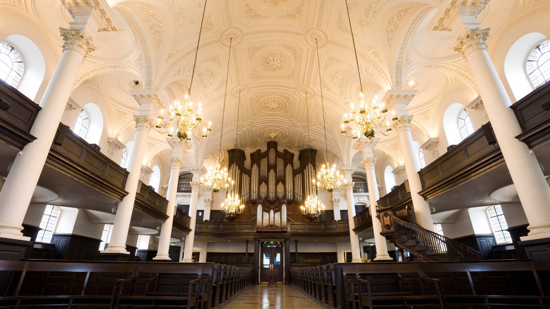 St Martin in the fields atmospheric historic church