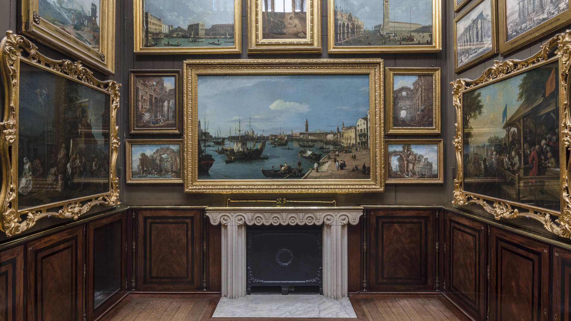 Picture room in the John Soanes Museum London Jumeirah