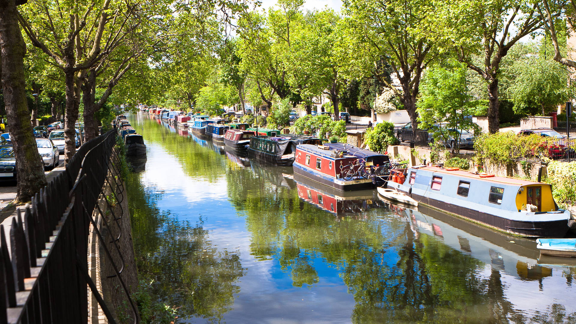 Regents Canal Little Venice London waterway