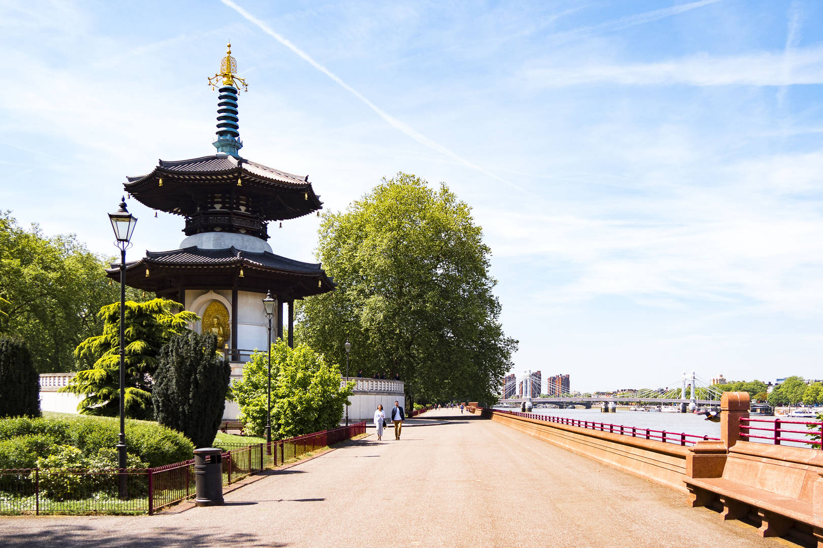 A visit to Battersea Park from The Carlton Tower Jumeirah