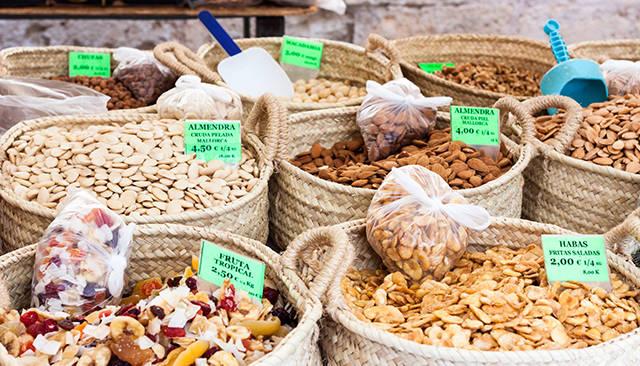 Здоровое питание на Майорке — орехи
