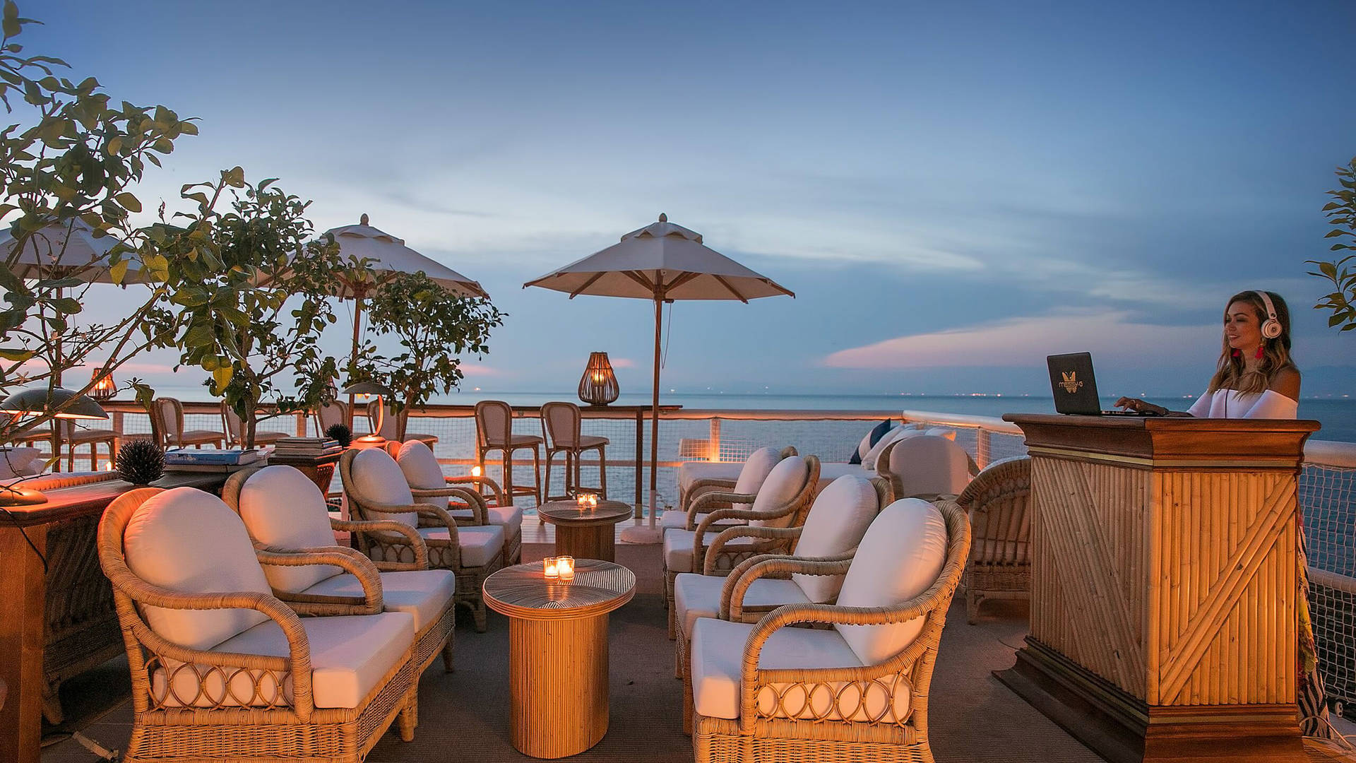 Jumeirah Capri Palace Il Riccio Evening DJ