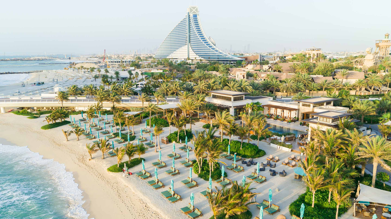Jumeirah private Beach Aeiral Shot