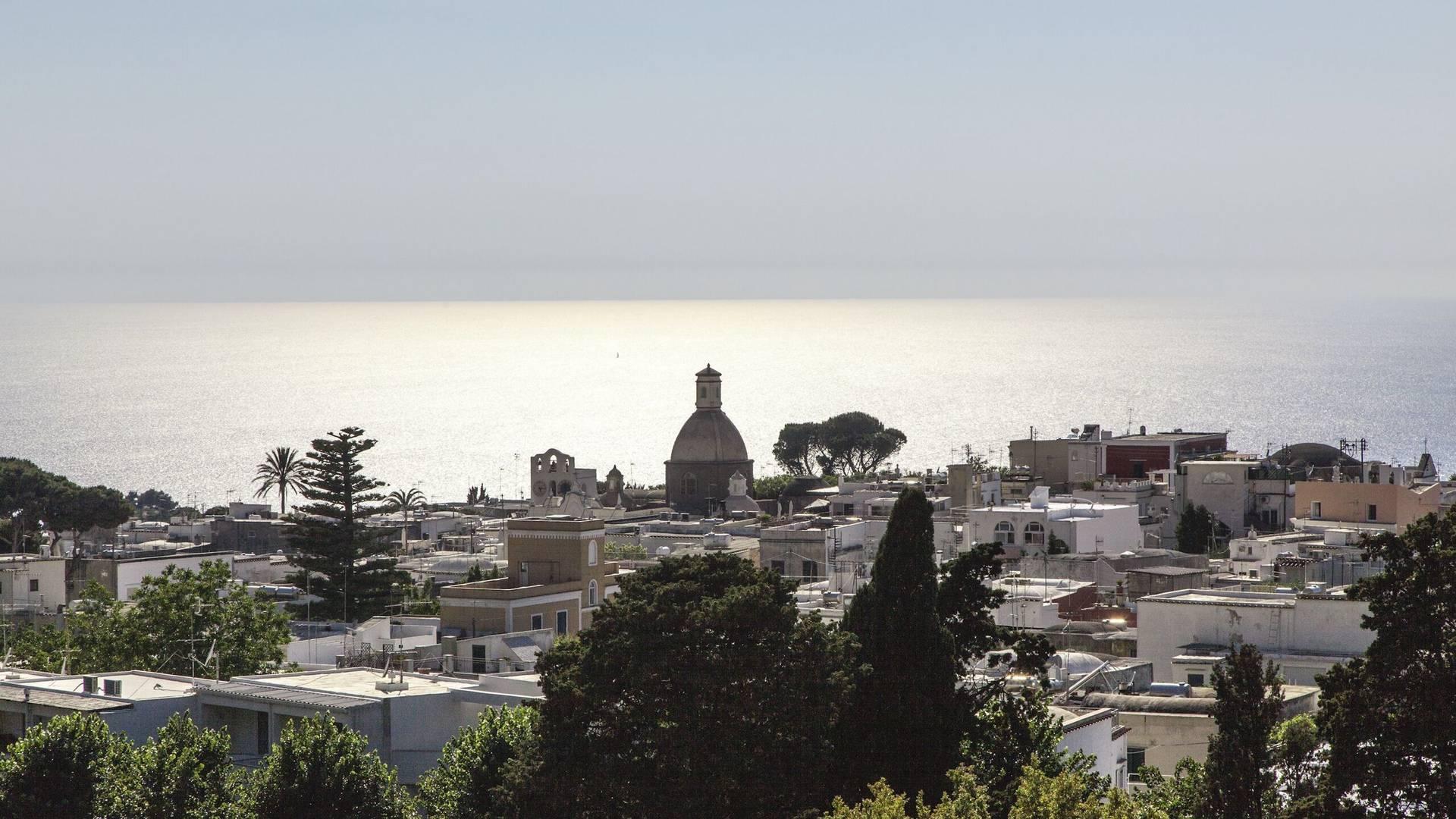 The skyline of Anacapri