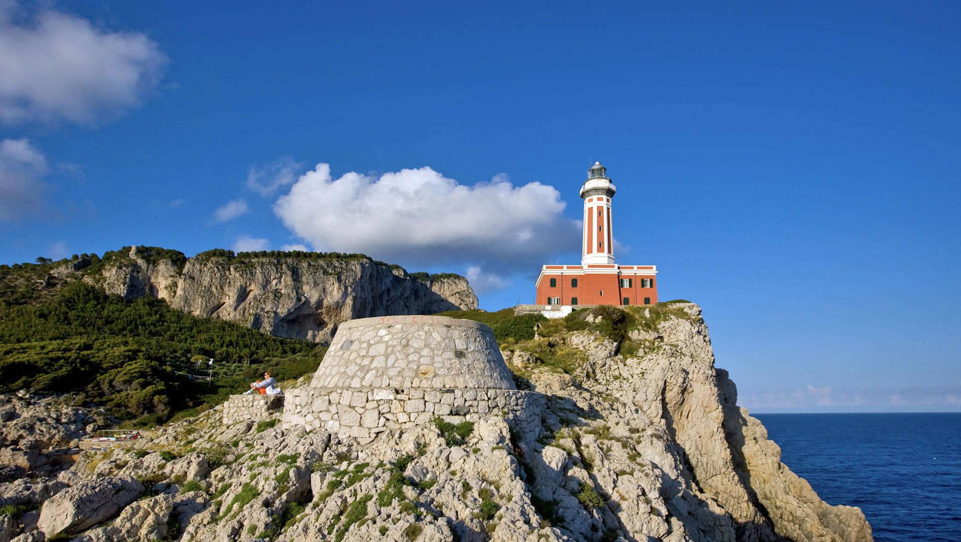 Lighthouse on Capri