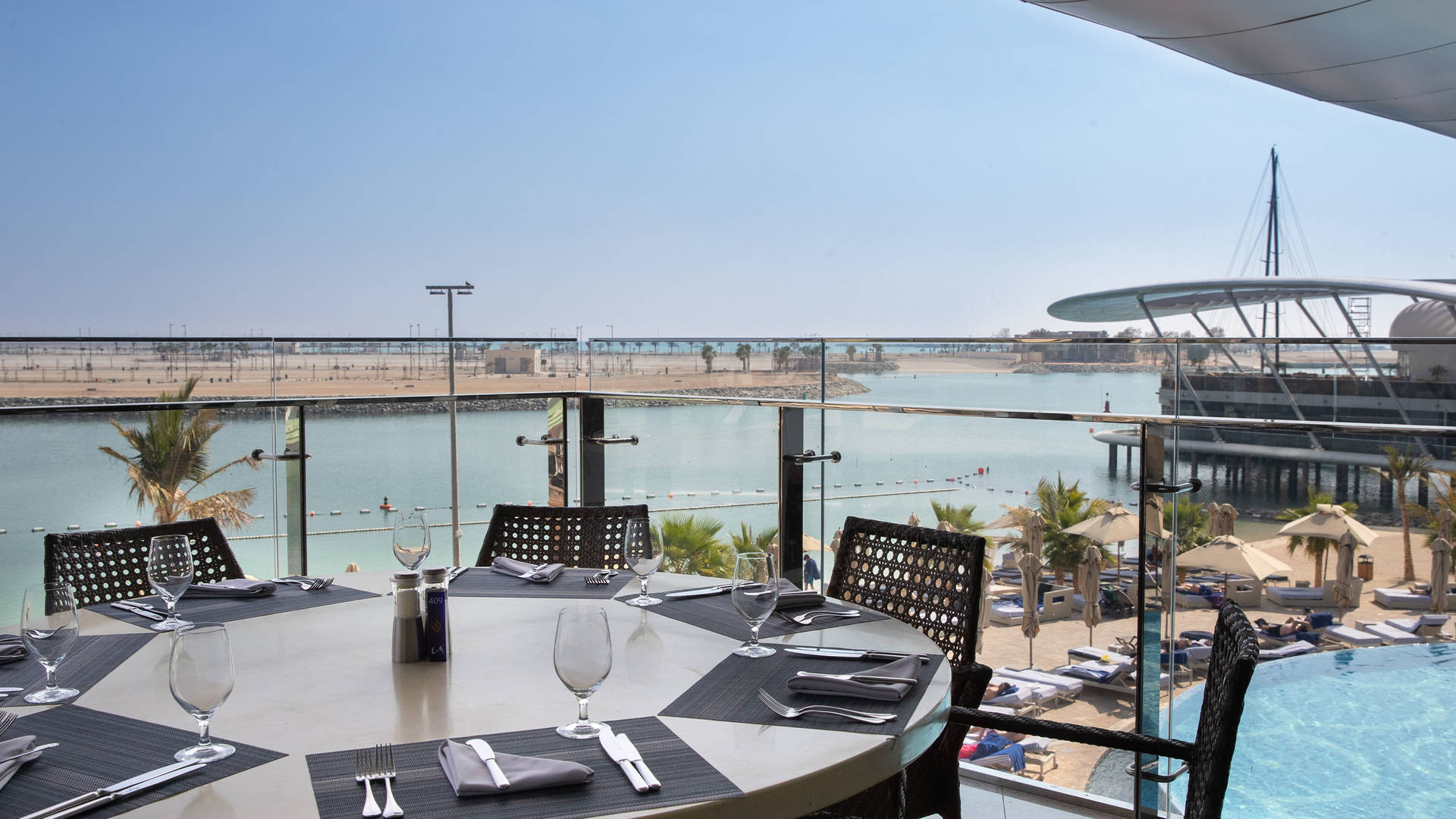Jumeirah at Etihad Towers Rosewater Terrace