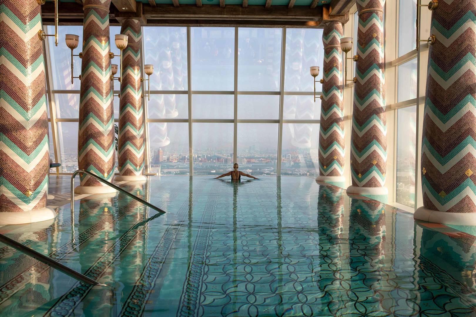 Jumeirah Bruj Al Arab Talise Spa pool_6-4