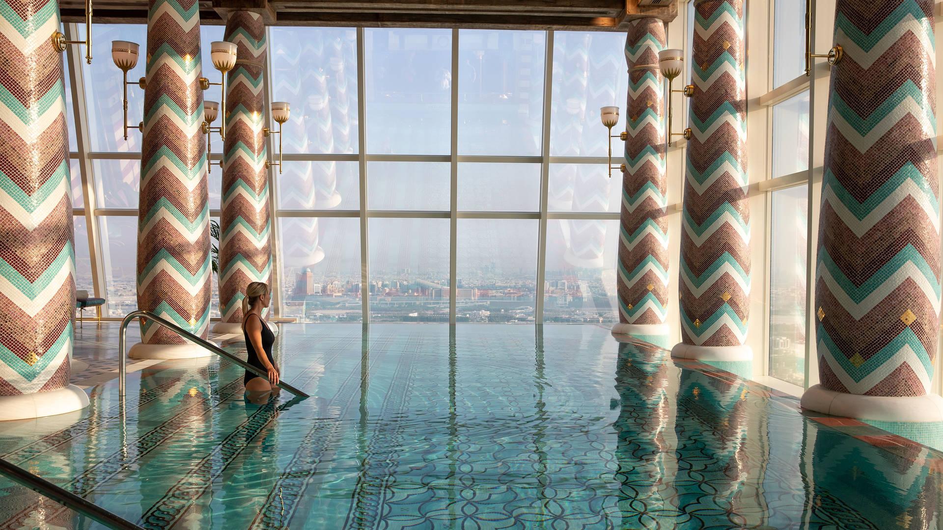 Burj Al Arab Talise Spa pool