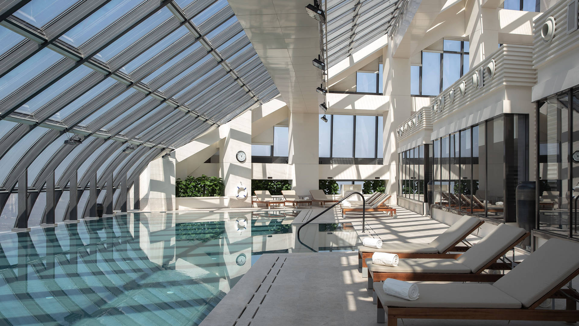 Sky Atrium swimming pool