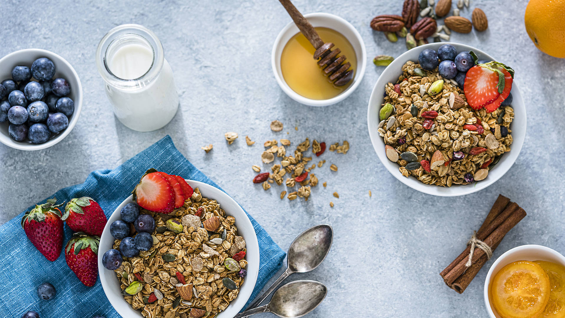 Middle Eastern style granola