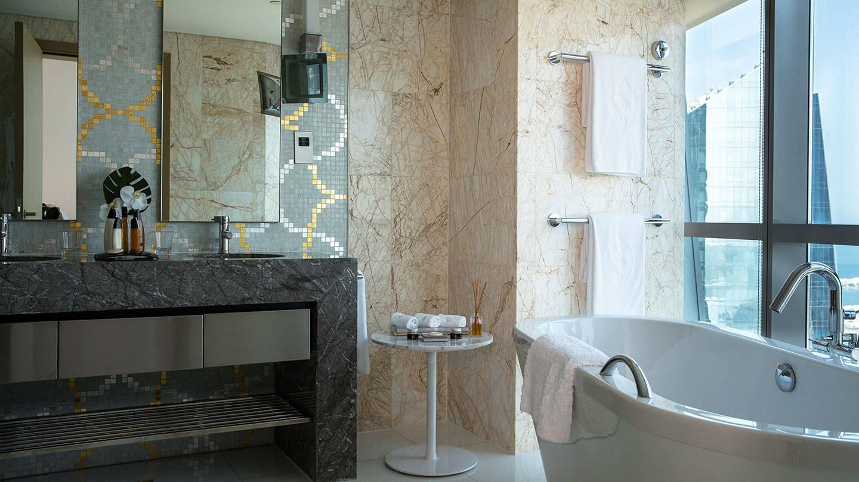 Jumeirah at Etihad Towers Club Suite Bathroom