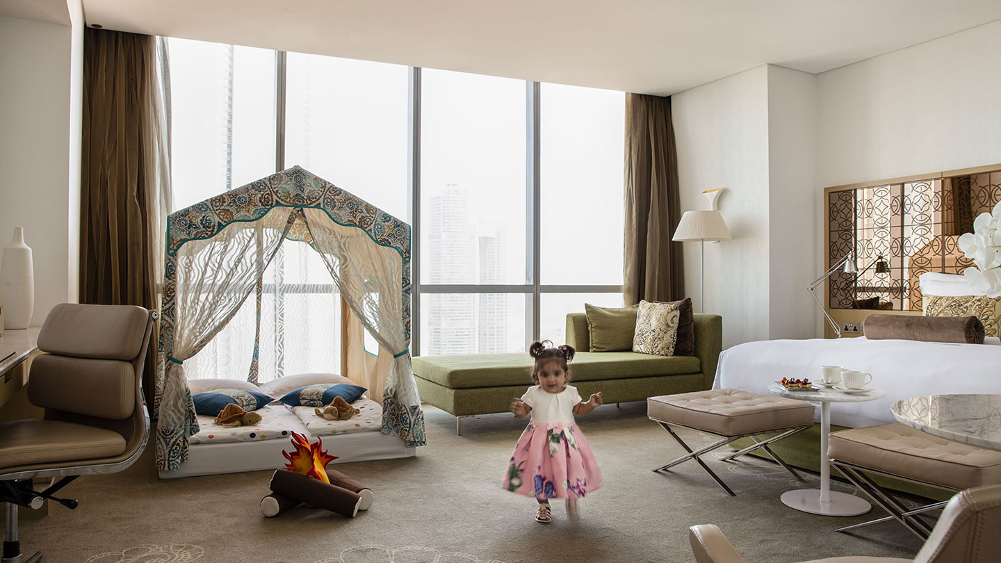 Jumeirah at Etihad Towers Kids Tent