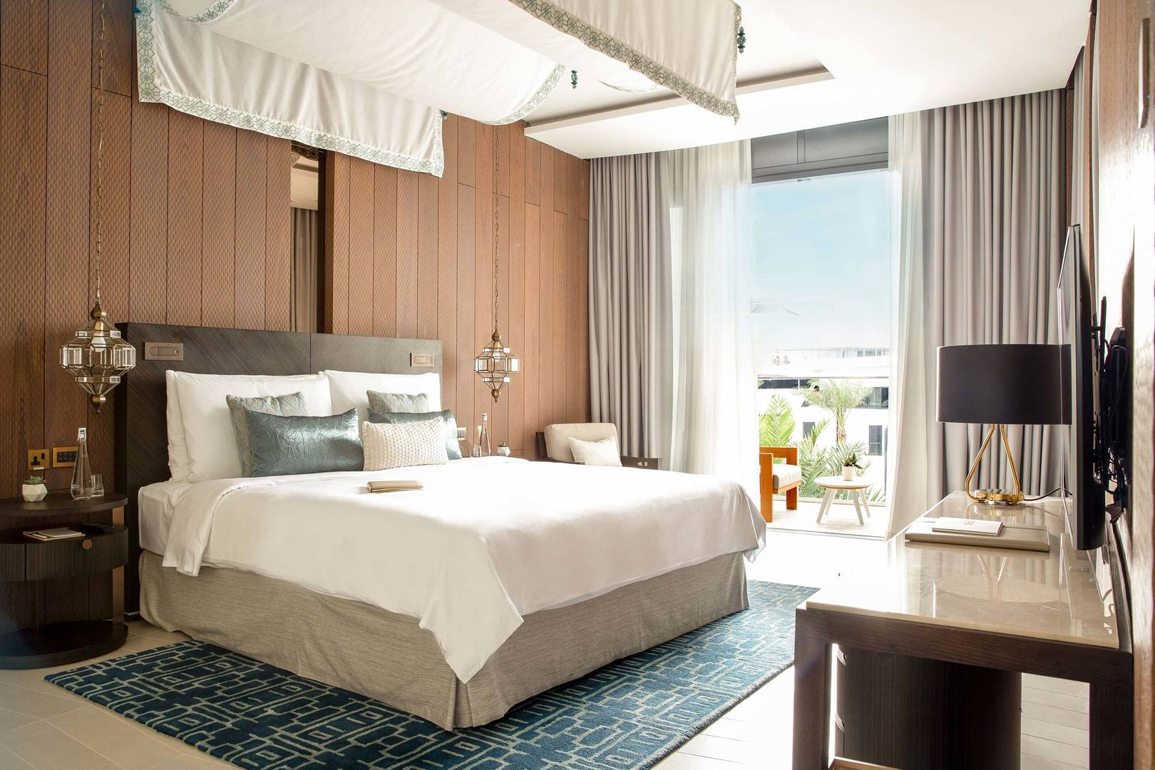 View at the king bedroom in Two Bedrooms Villa at Jumeirah Saadiyat Island Resort
