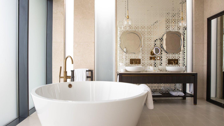Three Bedroom Villa bathroom of Jumeirah at Saadiyat Island Resort