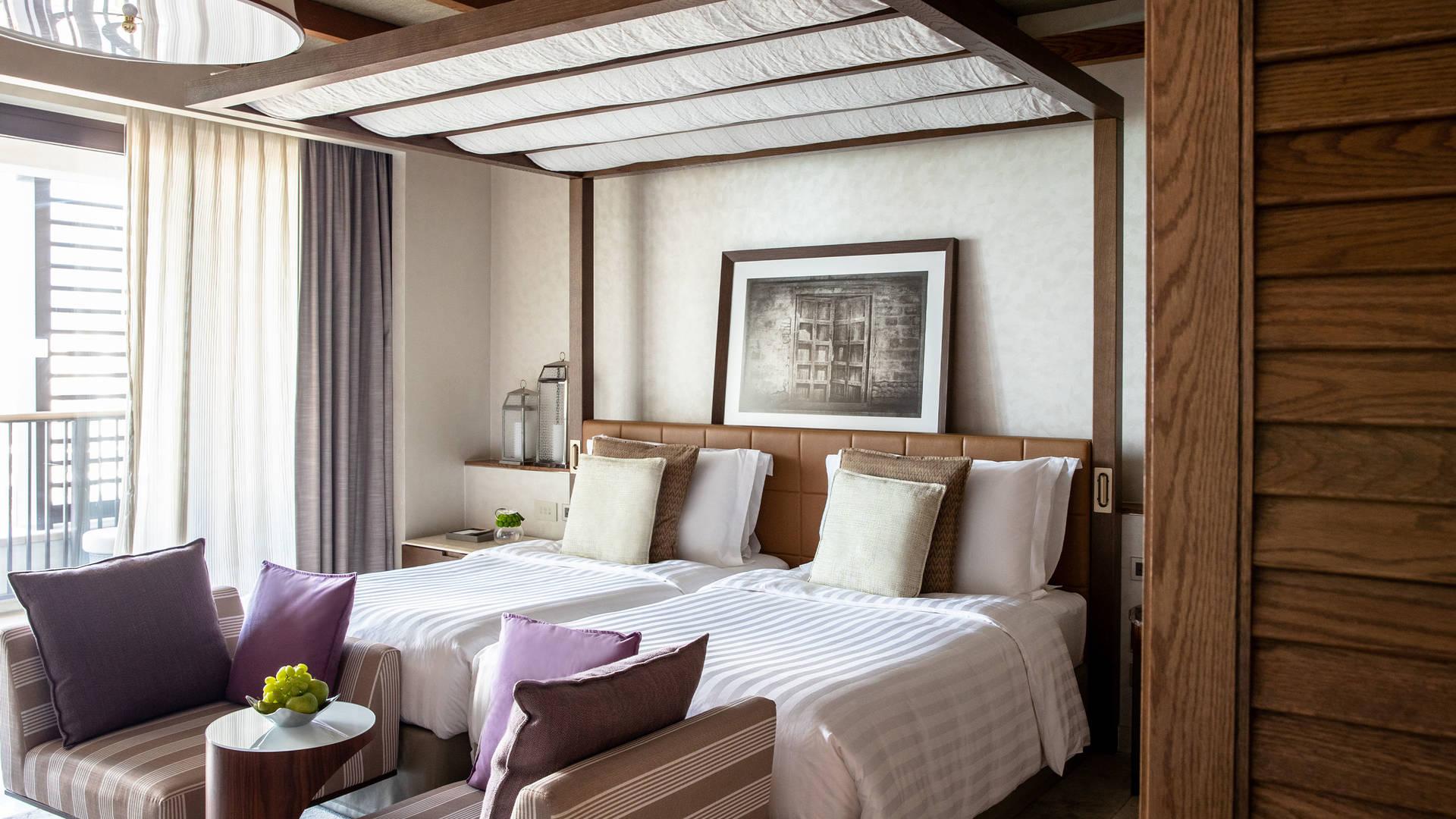 Ocean deluxe twin room
