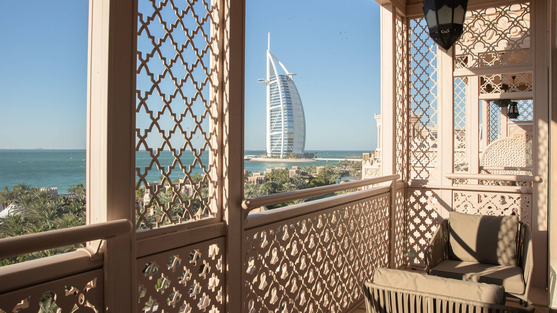 Jumeirah Al Qasr Presidential Suite Balcony