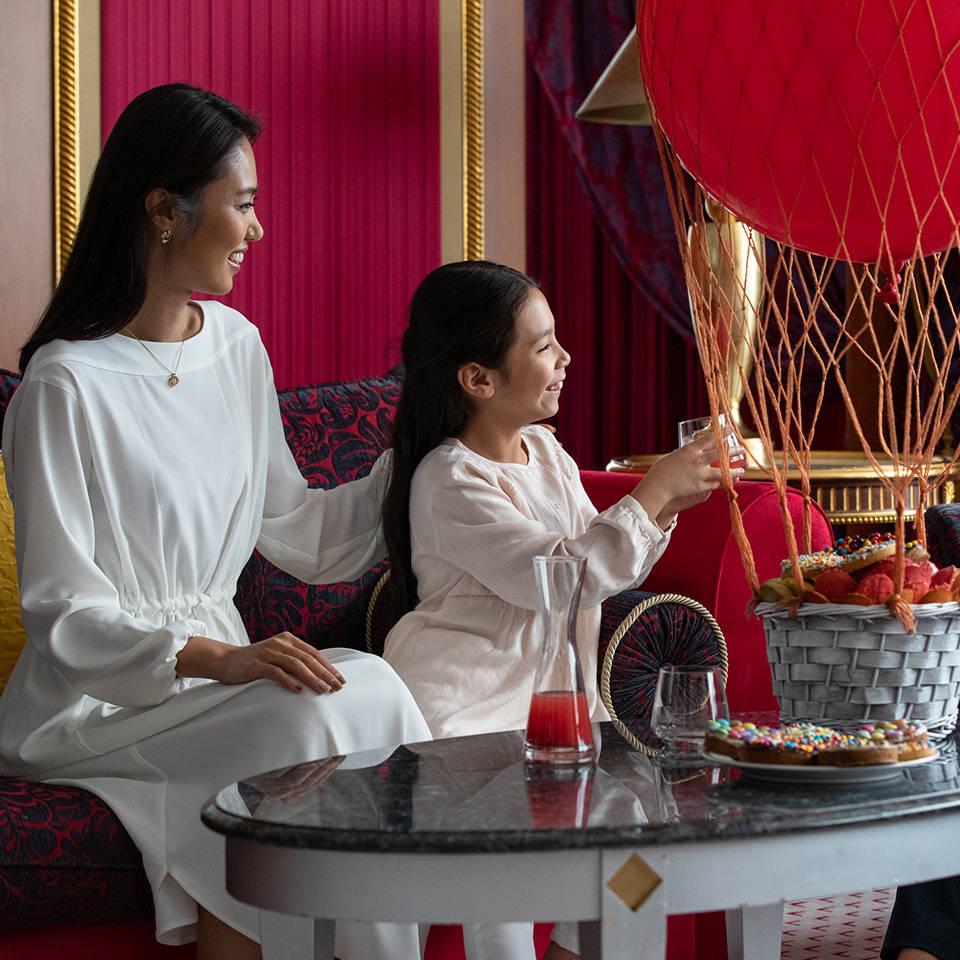 Jumeirah Burj Al Arab Two Bedroom Family Suite, children and parents
