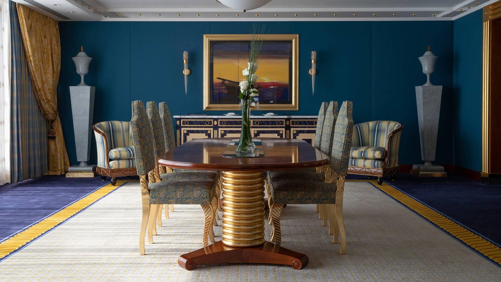 Jumeirah Burj Al Arab Presidential suite dining room_16-9