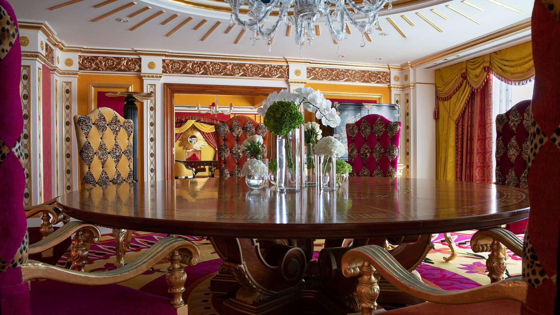Jumeirah Burj Al Arab royal suite dining room_16-9