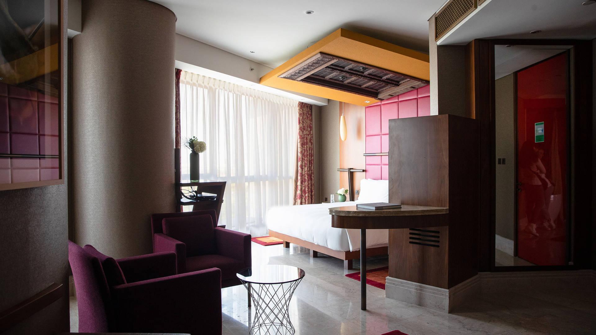 Duplex-Suite-Bedroom at Jumeirah-Creekside-Hotel
