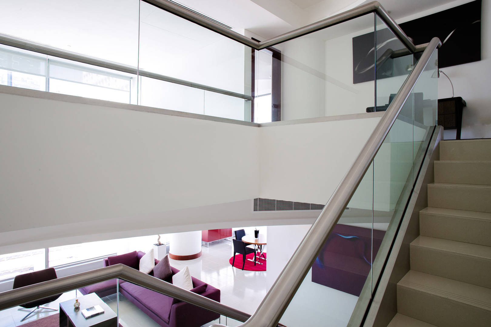 View of the Two Bedroom Duplex Residence staircase