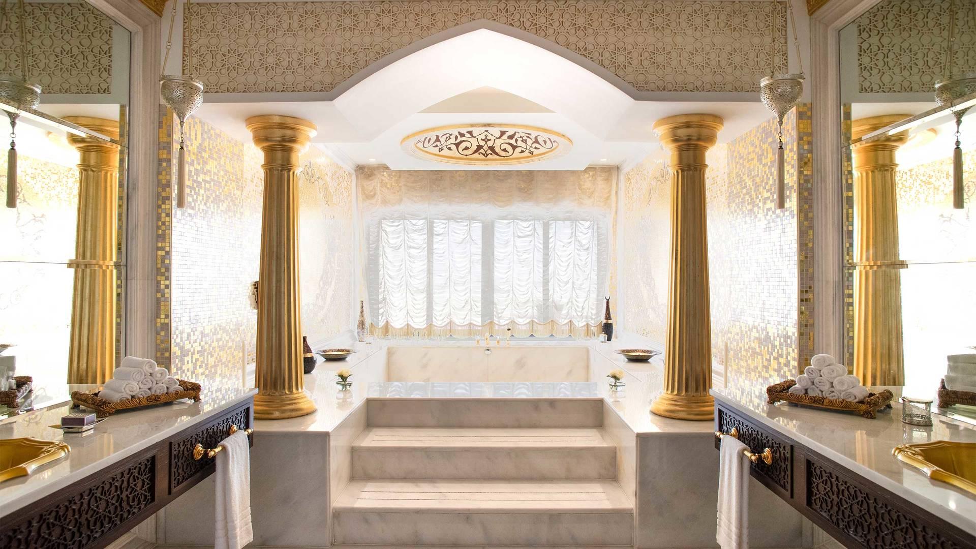 16-9 Room  Jumeirah Zabeel Saray Grand Imperial Suite Bathtub