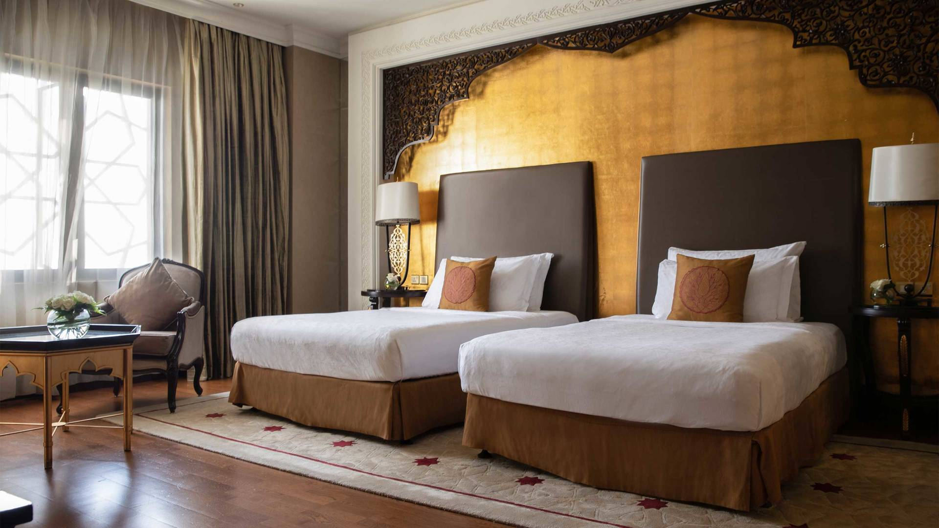 16-9 Room Jumeirah Zabeel Saray Two Bedroom-Suite Twin Bed Detail