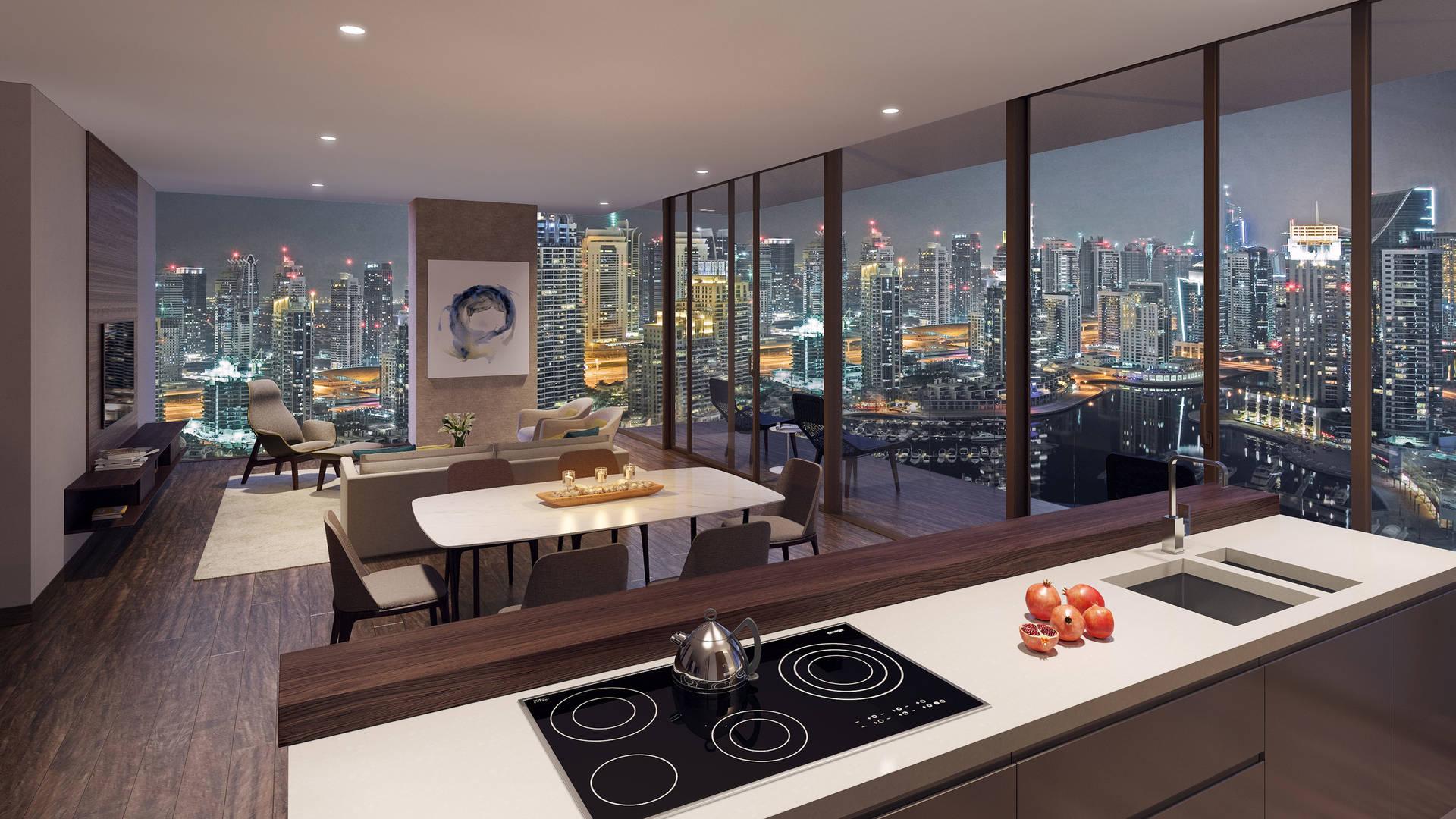 Jumeirah Living Marina Gate Livingroom