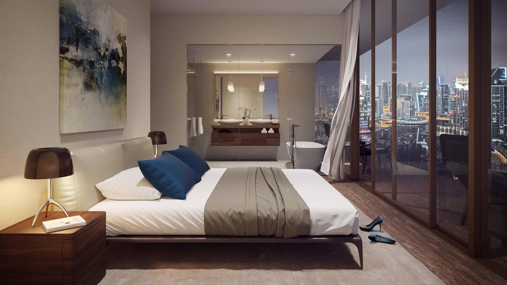 Jumeirah Living Marina Gate Master Bedroom