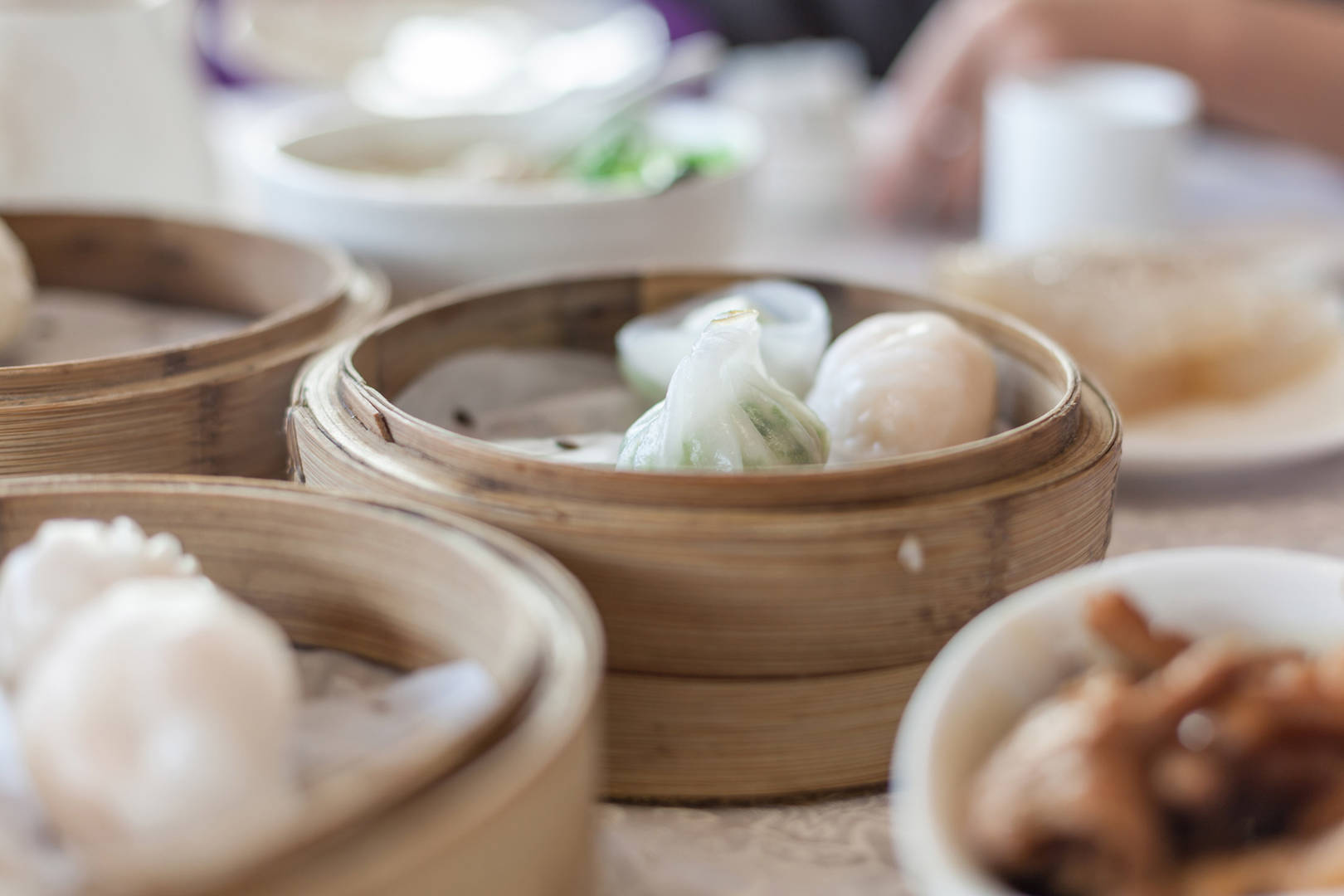 Jumeirah Steamed dumplings