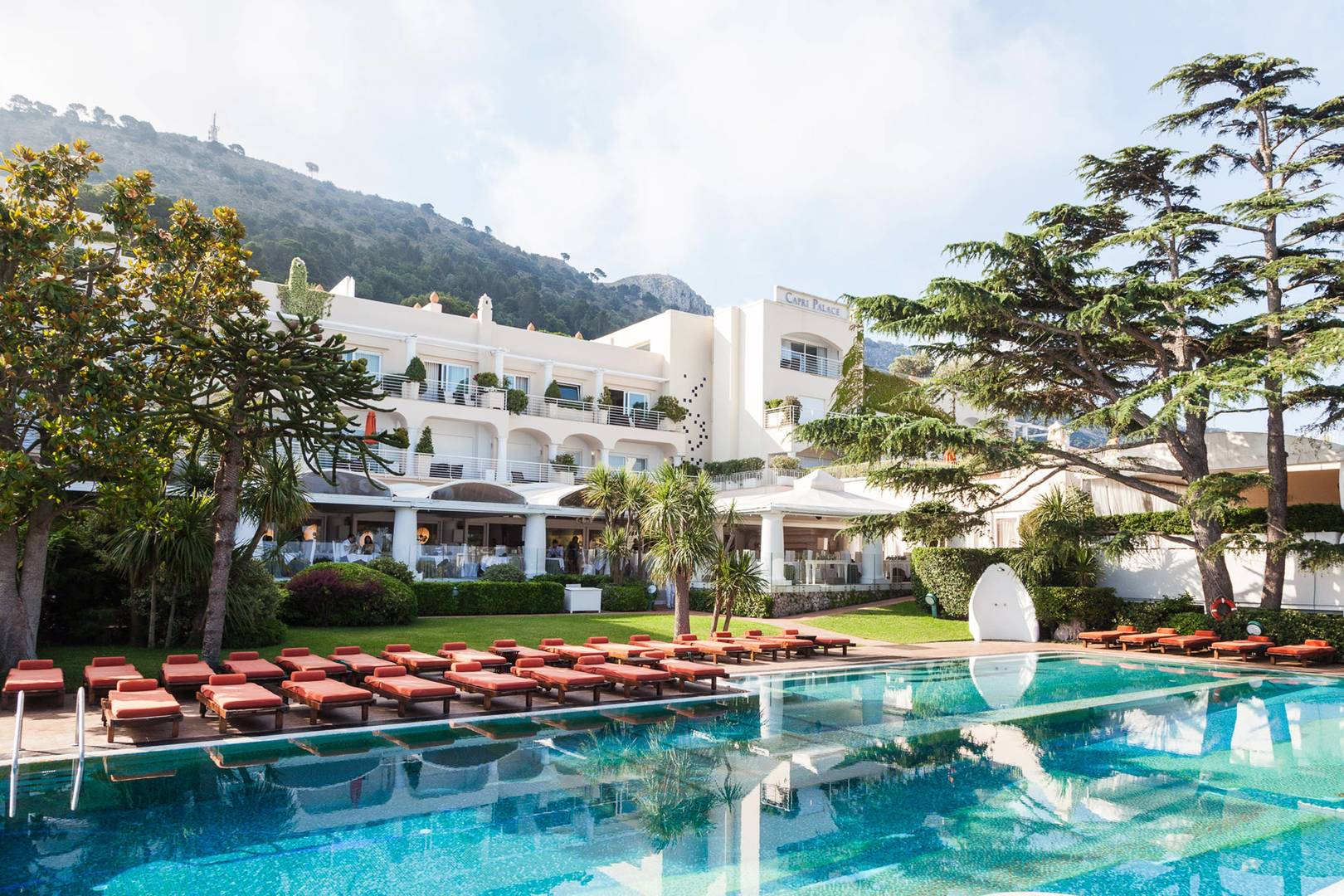 Capri Palace main pool
