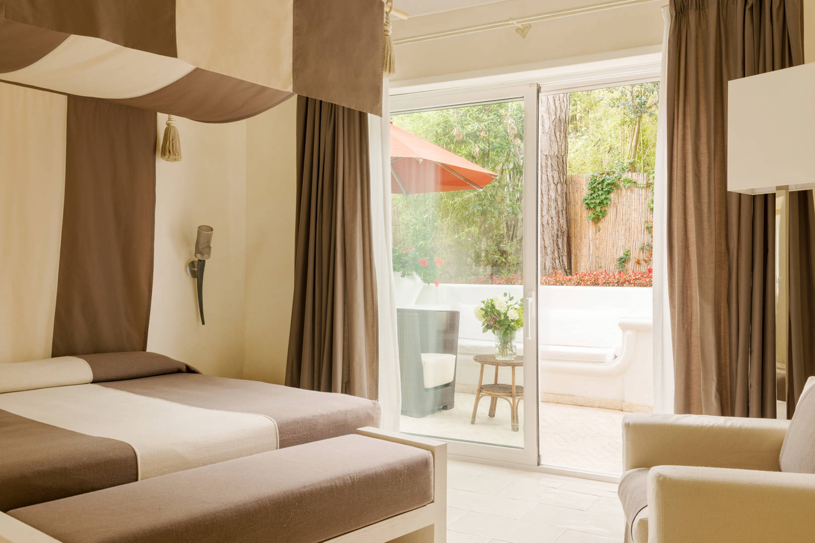 Capri Palace Jumeirah Classic Garden Side Bedroom window