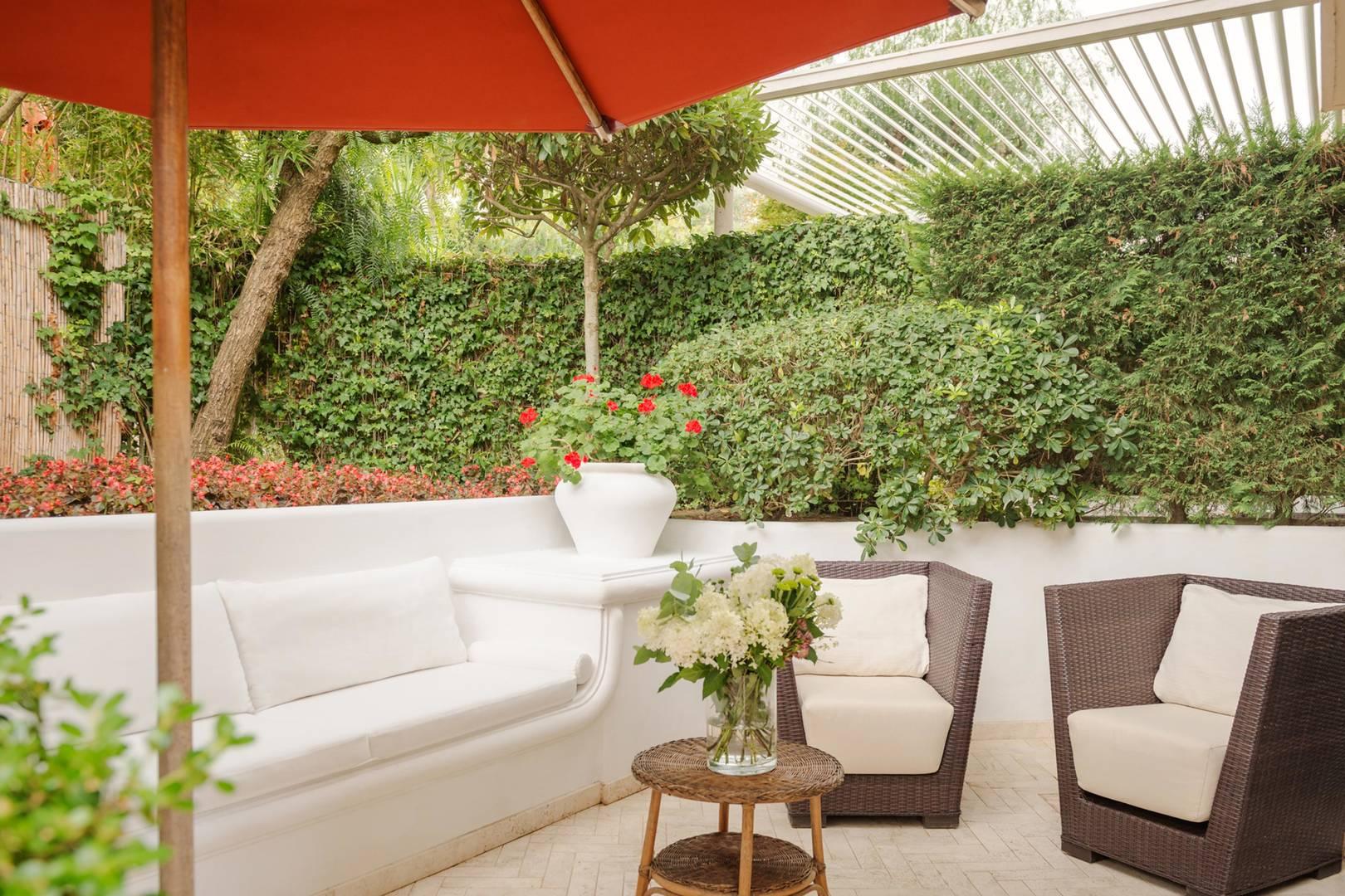 Capri Palace Jumeirah Classic Garden Side Terrace