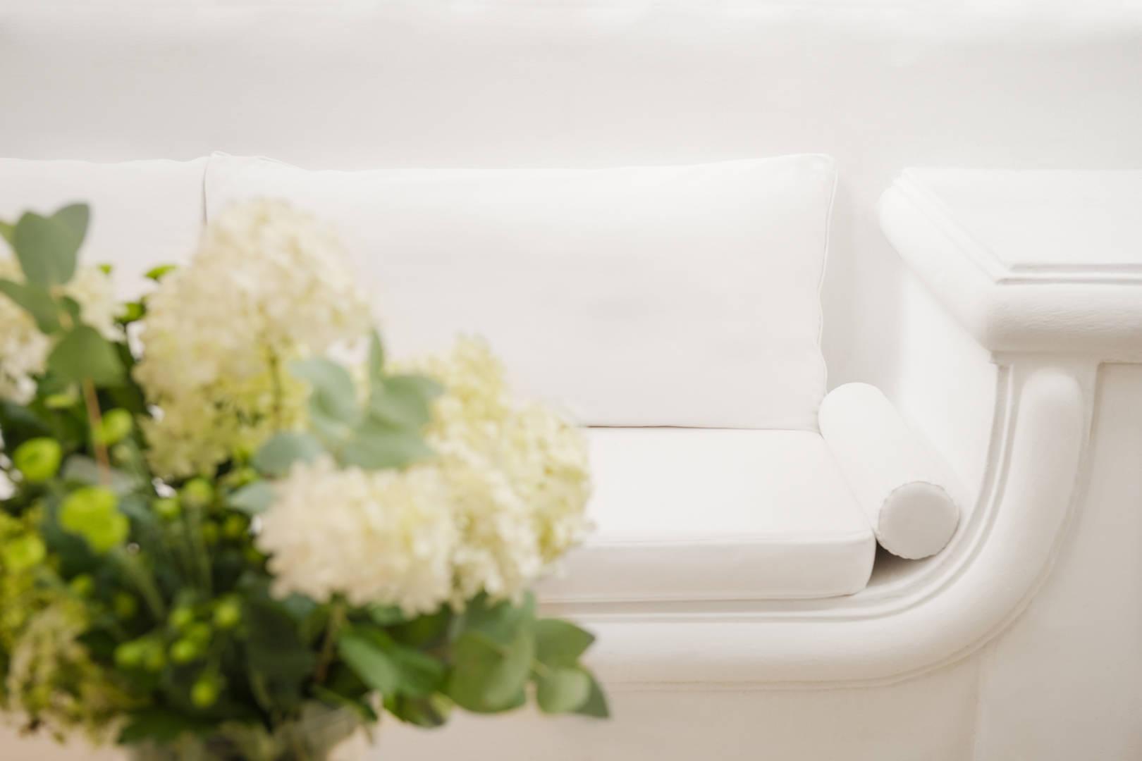 Capri Palace Jumeirah Classic Garden Side Sofa
