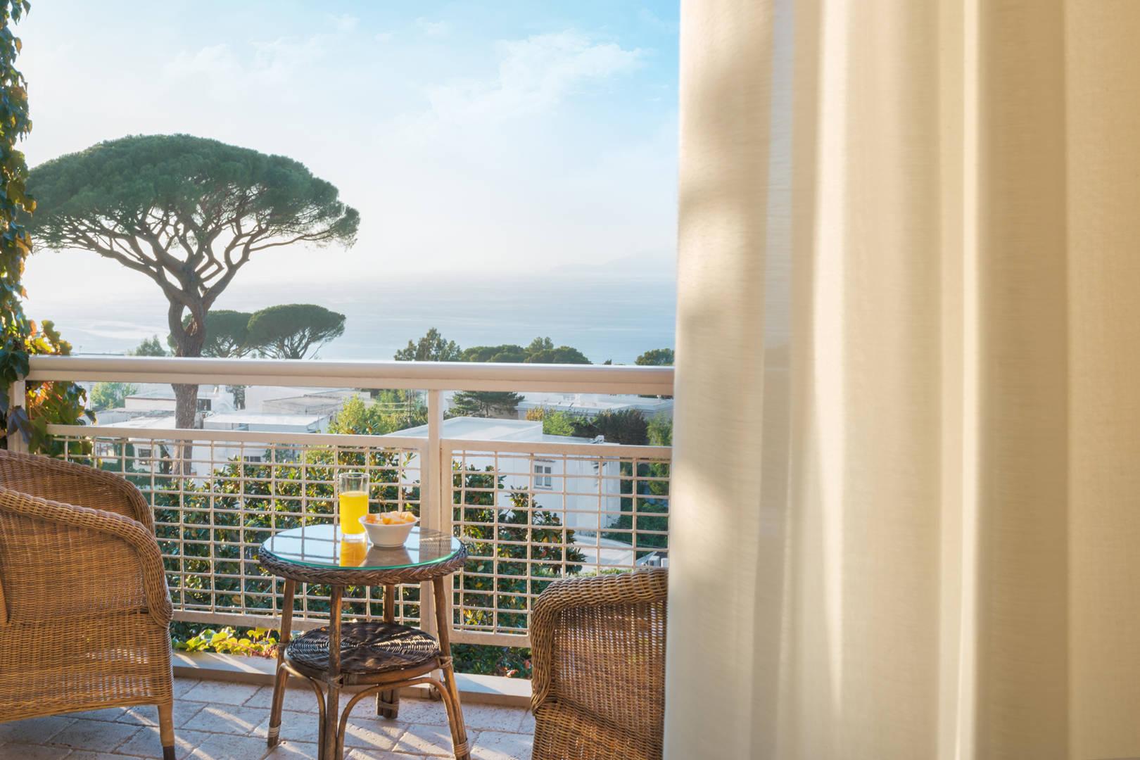 Capri Palace Jumeirah Classic Sea Side Terrace