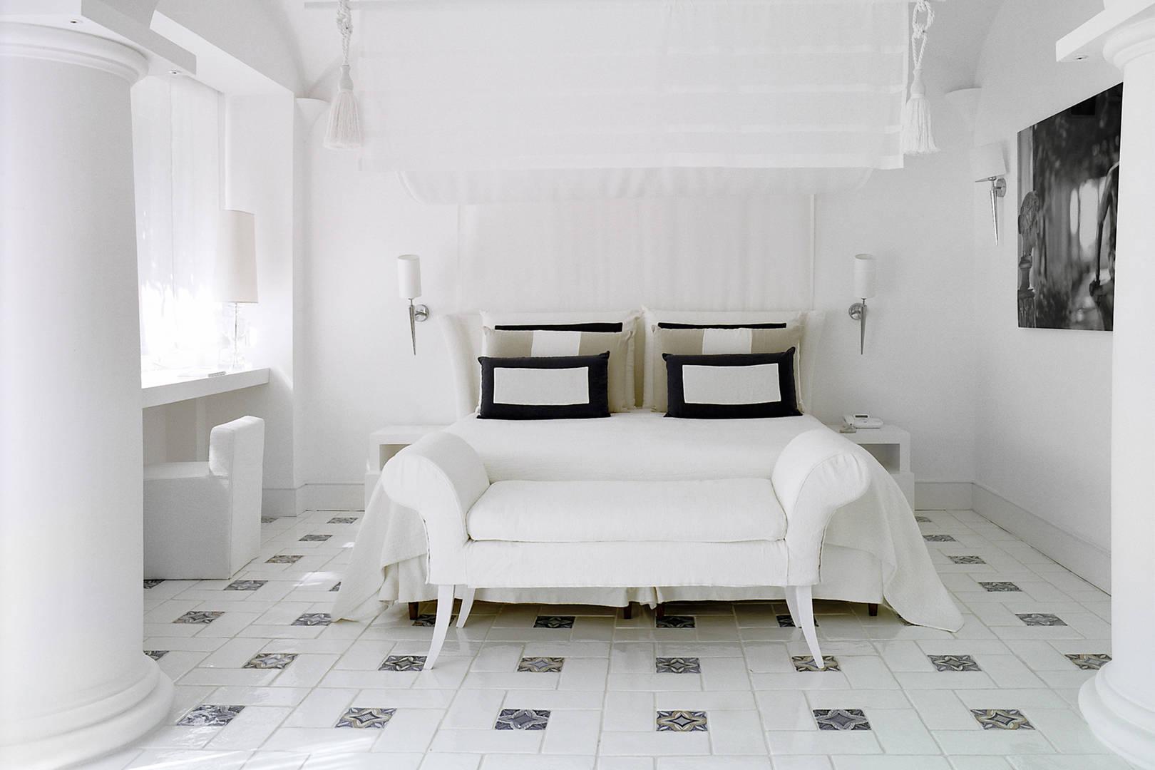 Capri Palace Jumeirah Junior Suite Garden Bed