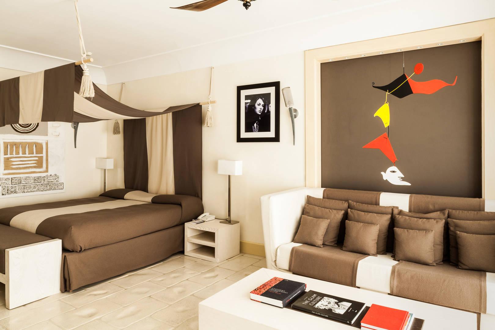 Capri Palace Jumeirah Star Junior Suite Living Room