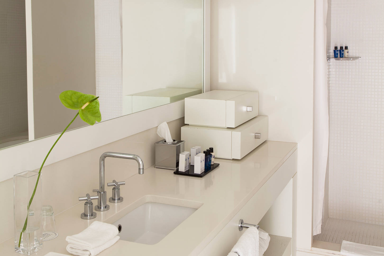 Capri Palace Jumeirah Suites wth Private Pool and Garden Margritte Bathroom
