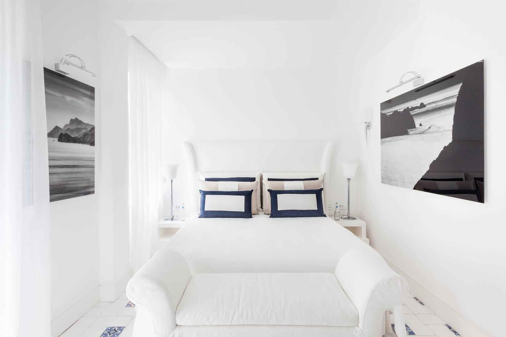 Capri Palace Jumeirah Superior Garden Side Bed Room