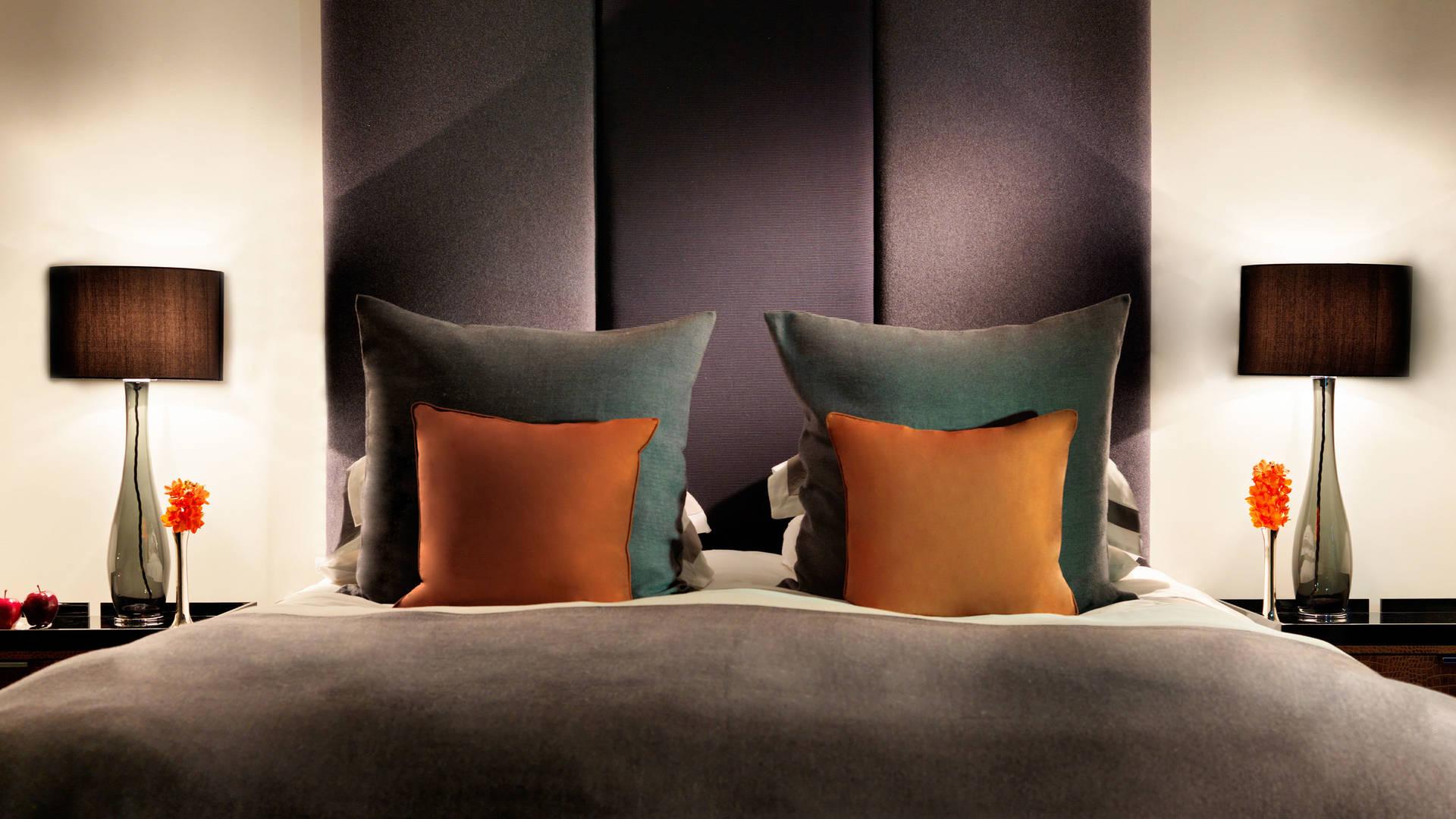 grosvenor house suites by jumeirah living sample bedroom