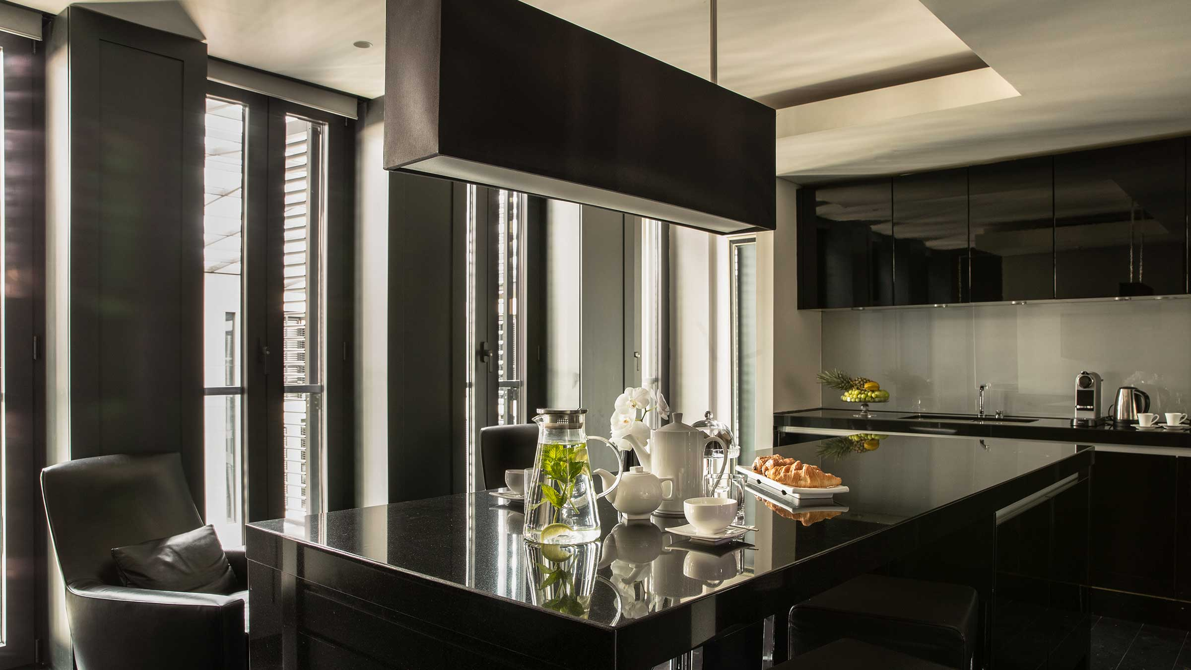 Kitchen - knightsbridge Penthouse