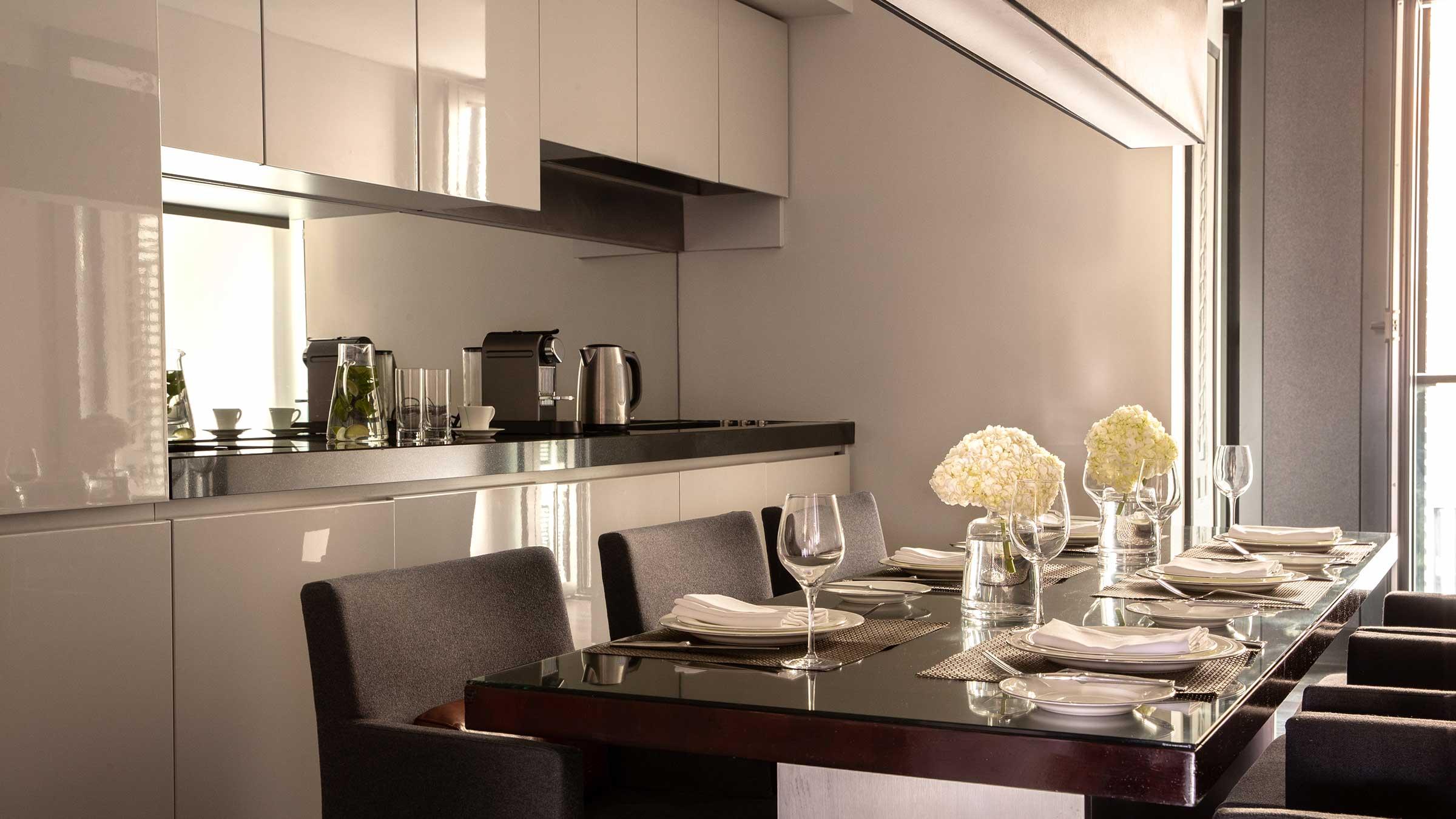 Kitchen  - Two Bedroom Deluxe