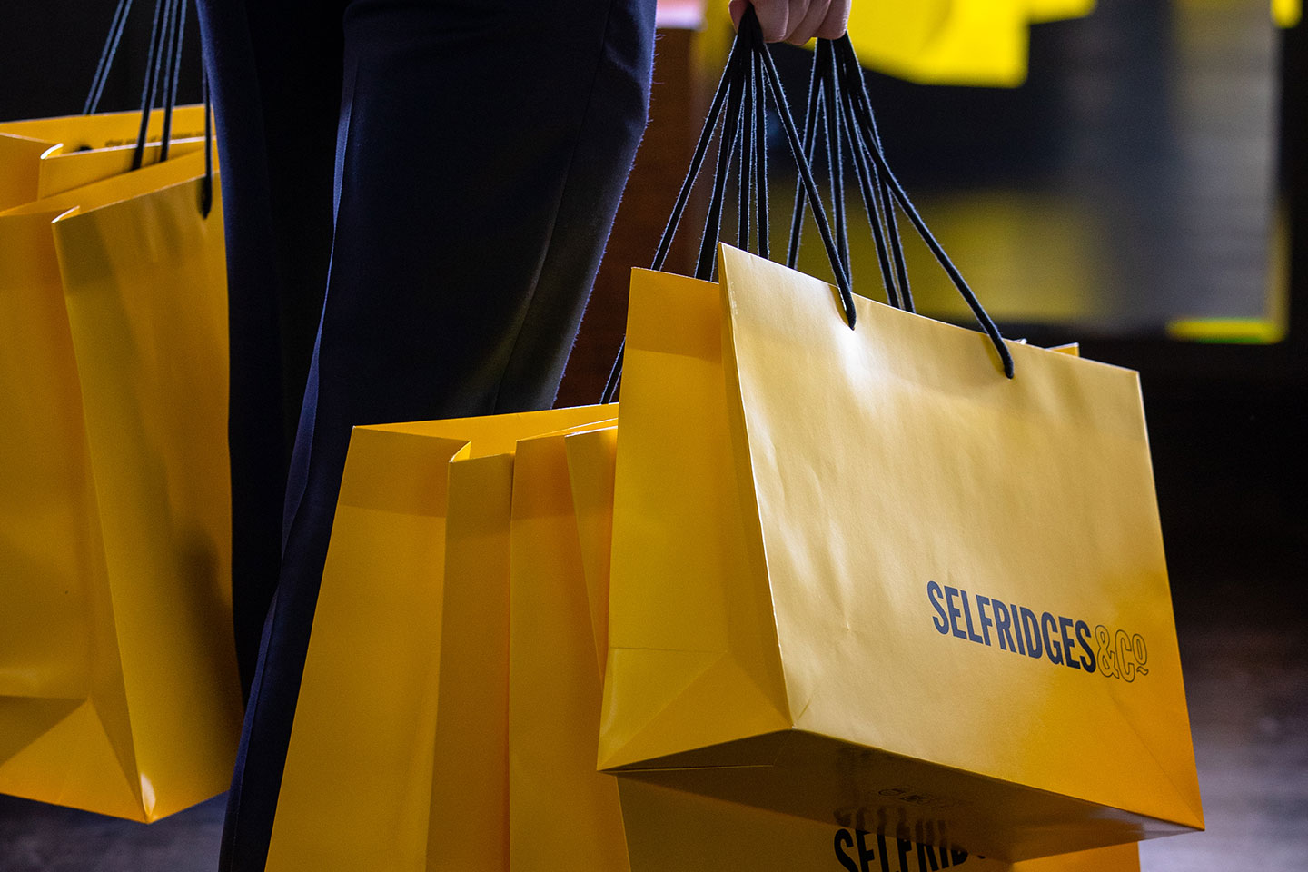selfridges shopping bags