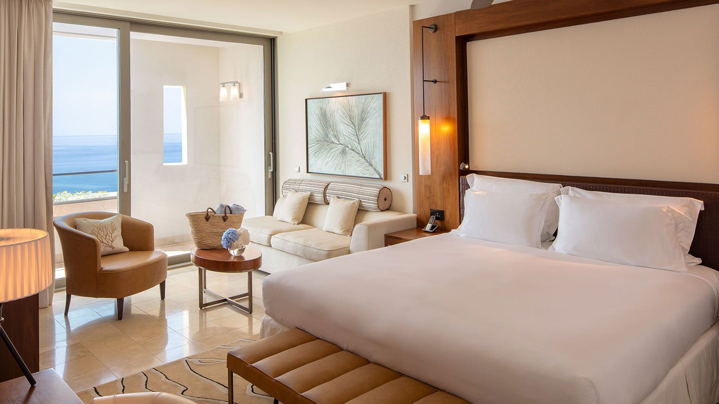 Deluxe sea view room at Jumeirah Port Soller Hotel & Spa