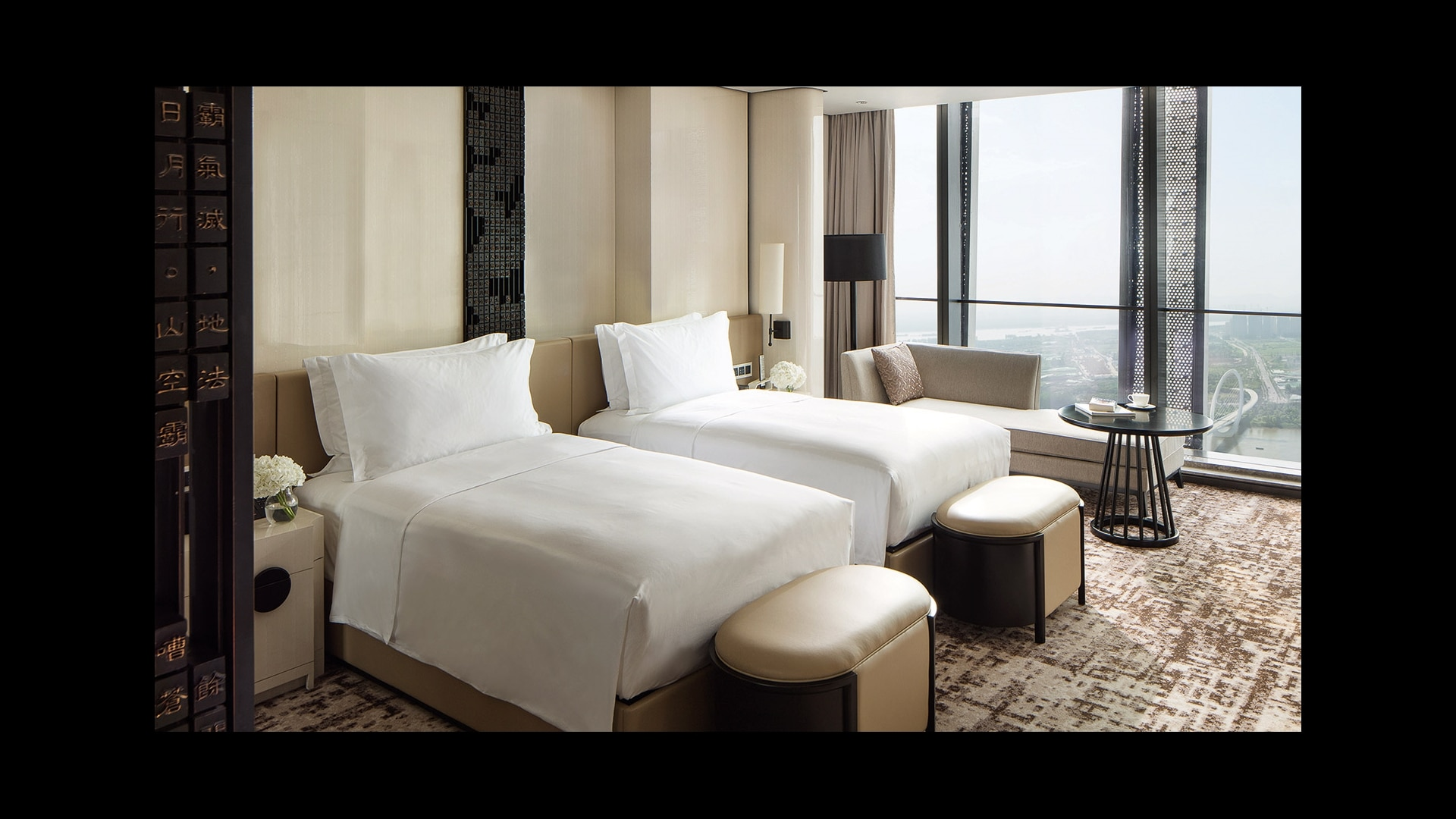 Jumeirah Nanjing Grand Deluxe Twin room with River View