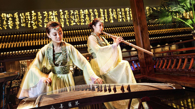 Instrumental cultural event at Jumeirah Himalayas Hotel