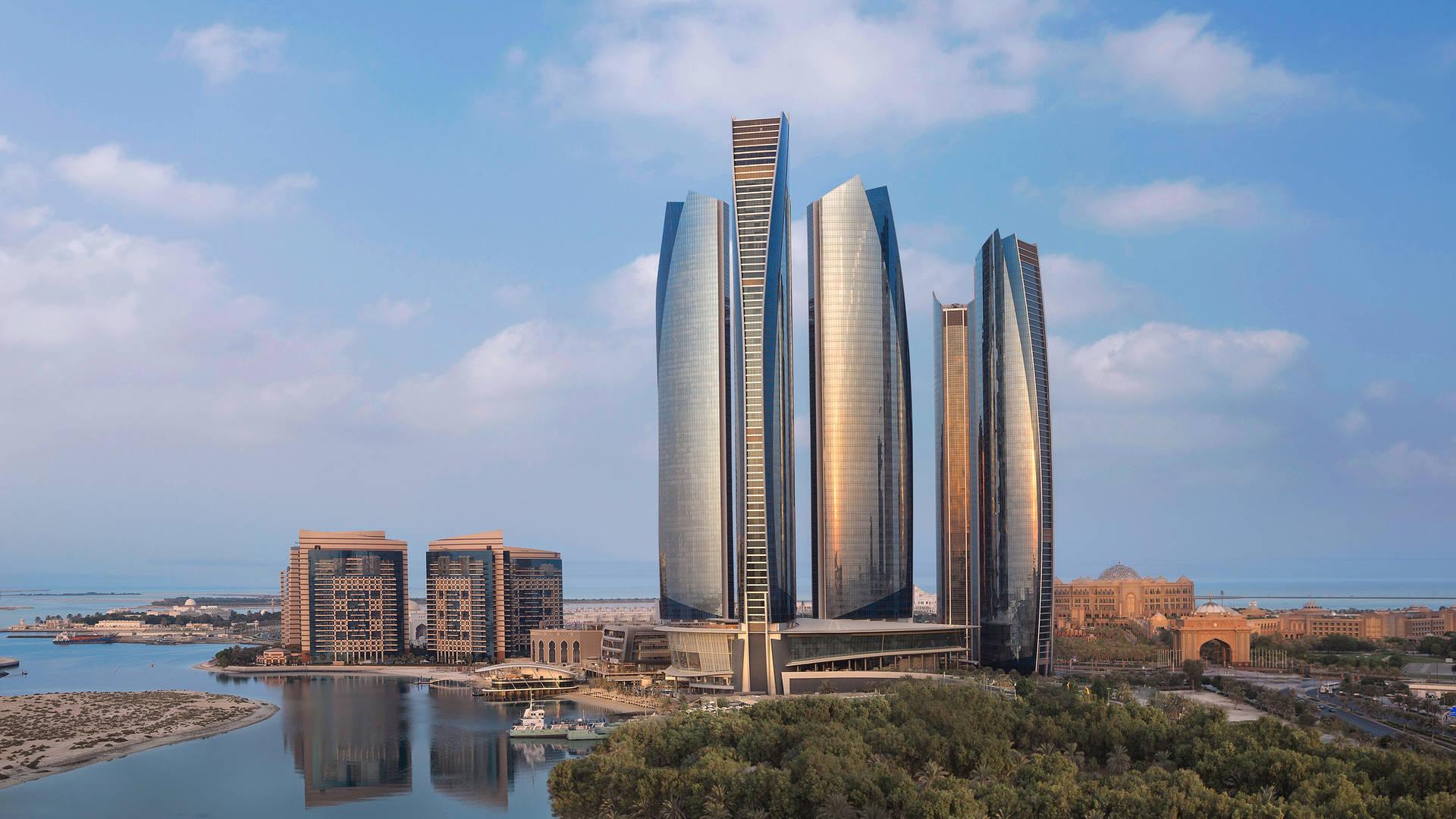 Отель Jumeirah at Etihad Towers — архитектурный облик_16-9
