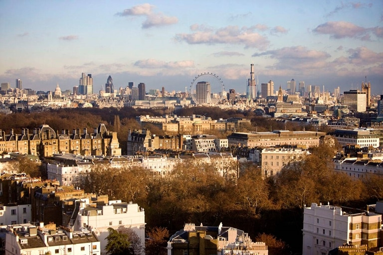 Jumeirah Carlton Tower London View