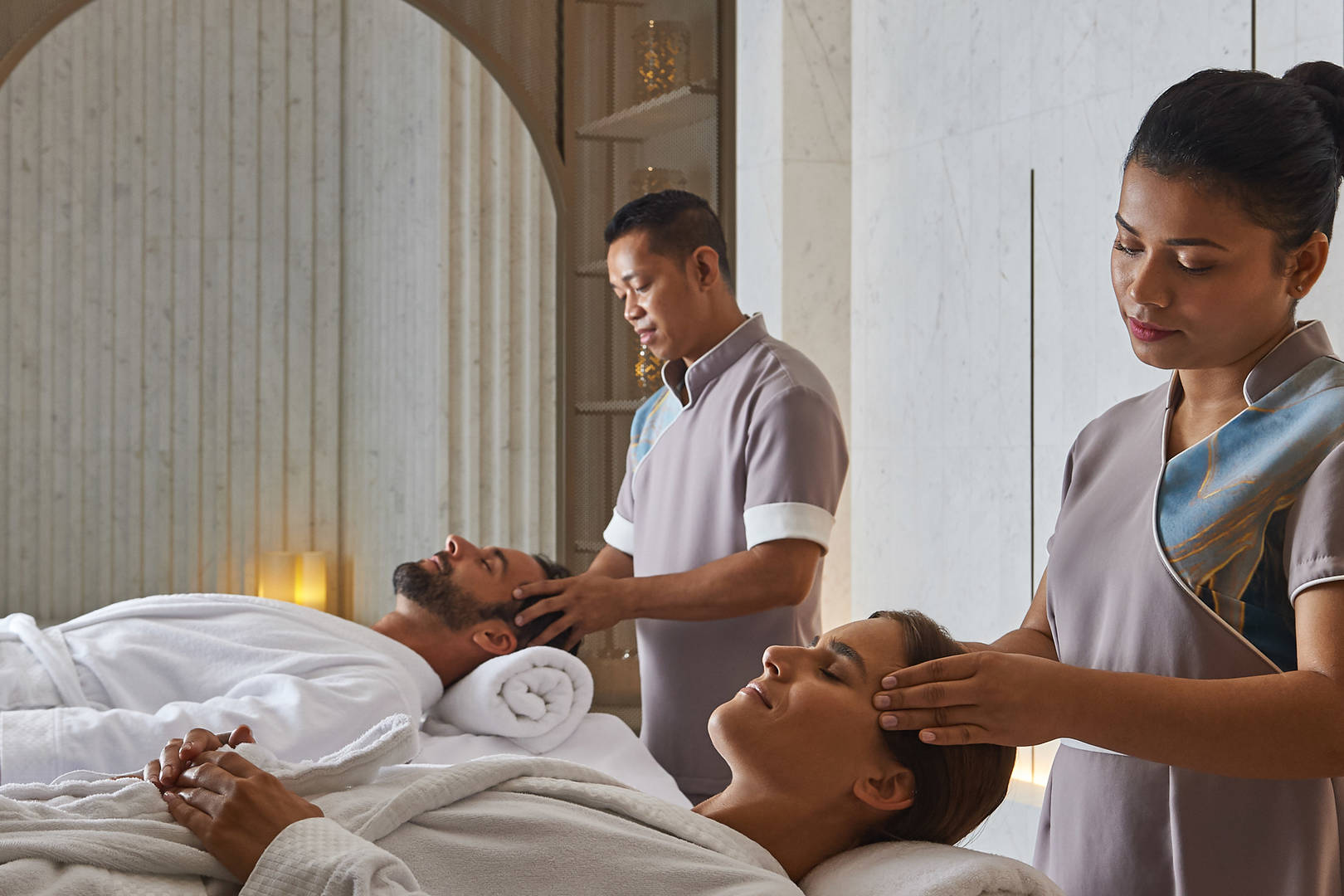 Jumeirah Beach Hotel Talise Spa Couples massage