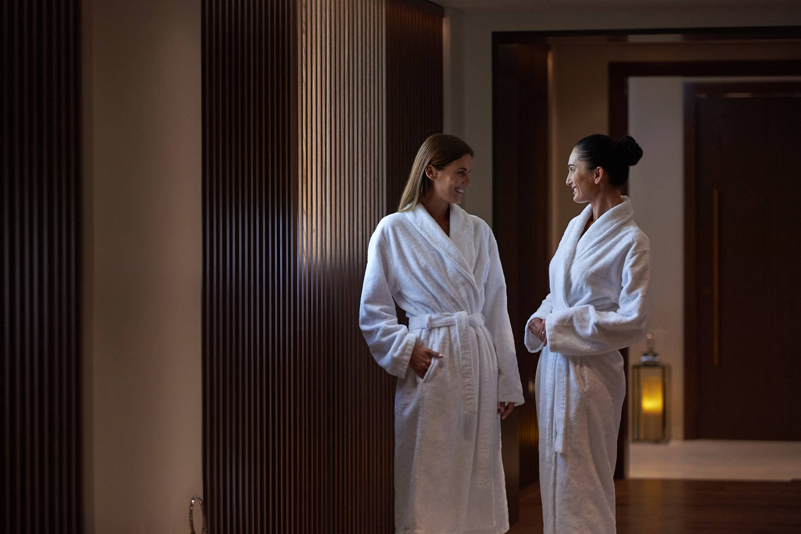Jumeirah Beach Hotel Talise Spa ladies in spa